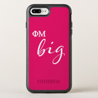 Coque OtterBox Symmetry iPhone 8 Plus/7 Plus Manuscrit de la MU de phi grand