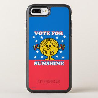 Coque OtterBox Symmetry iPhone 8 Plus/7 Plus Mme Sunshine Election - vote pour le soleil 2