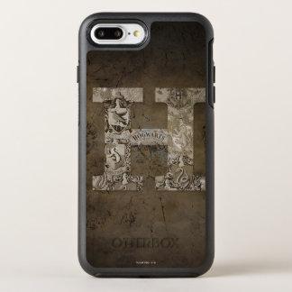 Coque OtterBox Symmetry iPhone 8 Plus/7 Plus Monogramme de Harry Potter   Hogwarts