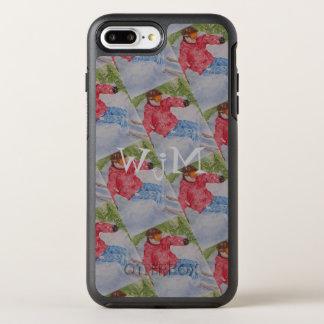 COQUE OtterBox SYMMETRY iPhone 8 PLUS/7 PLUS  MONOGRAMME DE SKI ALPIN