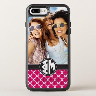 Coque OtterBox Symmetry iPhone 8 Plus/7 Plus Monogramme et photo de la MU | de phi