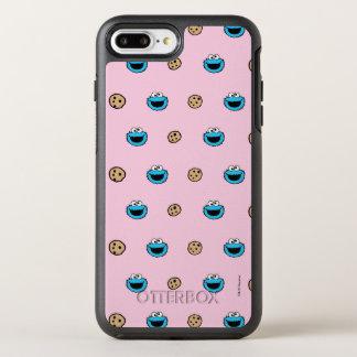 Coque OtterBox Symmetry iPhone 8 Plus/7 Plus Monstre de biscuit et motif de rose de biscuits