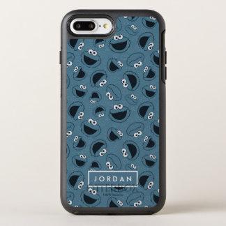 Coque OtterBox Symmetry iPhone 8 Plus/7 Plus Monstre de biscuit | je motif affamé