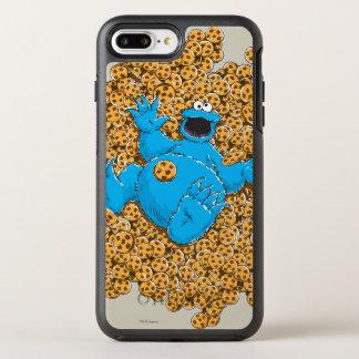 Coque OtterBox Symmetry iPhone 8 Plus/7 Plus Monstre vintage et biscuits de biscuit