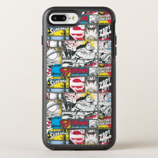 Coque OtterBox Symmetry iPhone 8 Plus/7 Plus Motif 2 de logo de Superman