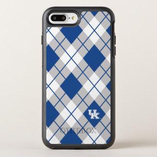 Coque OtterBox Symmetry iPhone 8 Plus/7 Plus Motif à motifs de losanges du Kentucky   Kentucky