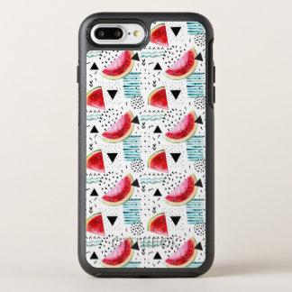 Coque OtterBox Symmetry iPhone 8 Plus/7 Plus Motif abstrait de pastèque