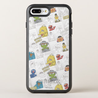 Coque OtterBox Symmetry iPhone 8 Plus/7 Plus Motif comique de StreetVintage de sésame