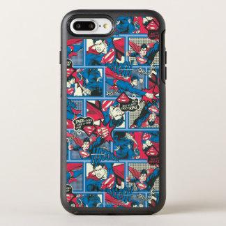Coque OtterBox Symmetry iPhone 8 Plus/7 Plus Motif comique de Superman