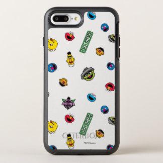 Coque OtterBox Symmetry iPhone 8 Plus/7 Plus Motif de caractère de Sesame Street