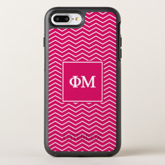Coque OtterBox Symmetry iPhone 8 Plus/7 Plus Motif de la MU | Chevron de phi