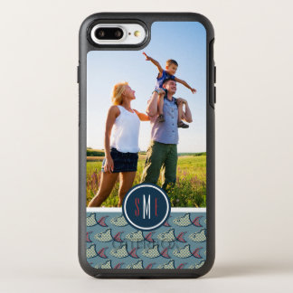 Coque OtterBox Symmetry iPhone 8 Plus/7 Plus Motif | de poissons de point de polka votre photo