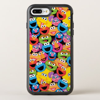 Coque OtterBox Symmetry iPhone 8 Plus/7 Plus Motif de visages de caractère de Sesame Street