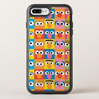 Coque OtterBox Symmetry iPhone 8 Plus/7 Plus Motif de yeux de caractère de Sesame Street