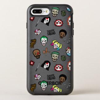 Coque OtterBox Symmetry iPhone 8 Plus/7 Plus Motif d'Emoji de peloton de suicide du peloton |