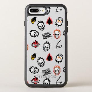 Coque OtterBox Symmetry iPhone 8 Plus/7 Plus Motif du peloton | Diablo Emoji de suicide