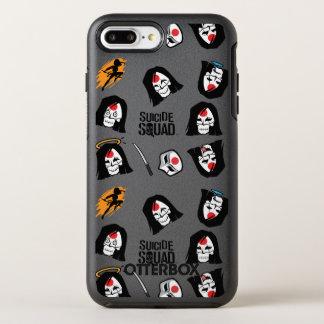 Coque OtterBox Symmetry iPhone 8 Plus/7 Plus Motif du peloton | Katana Emoji de suicide