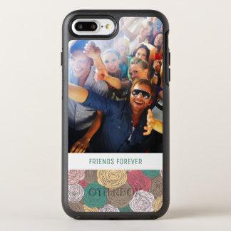 Coque OtterBox Symmetry iPhone 8 Plus/7 Plus Motif floral élégant de photo et de textes