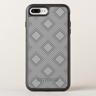 Coque OtterBox Symmetry iPhone 8 Plus/7 Plus Motif gris classique de carrés
