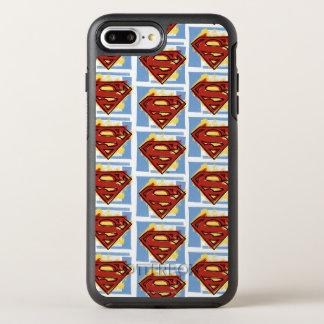 Coque OtterBox Symmetry iPhone 8 Plus/7 Plus Motif rouge et bleu de Superman