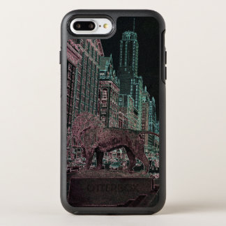COQUE OtterBox SYMMETRY iPhone 8 PLUS/7 PLUS  NÉON DU MUSÉE D'ART 1967 D'AVENUE DE CHICAGO