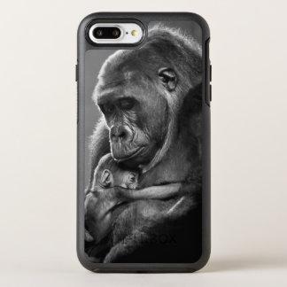 Coque OtterBox Symmetry iPhone 8 Plus/7 Plus Nouveau gorille de mère