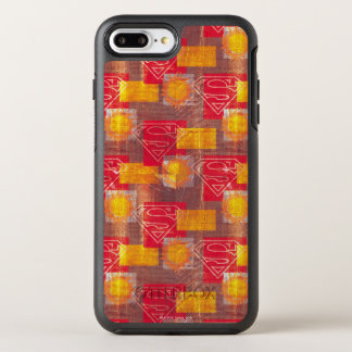 Coque OtterBox Symmetry iPhone 8 Plus/7 Plus Orange et rouge de bouclier
