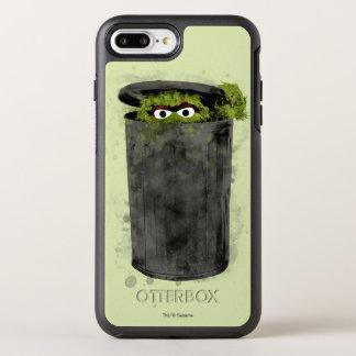 Coque OtterBox Symmetry iPhone 8 Plus/7 Plus Oscar la tendance d'aquarelle du rouspéteur |