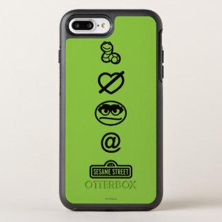 Coque OtterBox Symmetry iPhone 8 Plus/7 Plus Oscar les icônes de rouspéteur