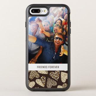 Coque OtterBox Symmetry iPhone 8 Plus/7 Plus Peau d'animal de photo et de textes avec des