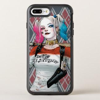 Coque OtterBox Symmetry iPhone 8 Plus/7 Plus Peloton de suicide | Harley Quinn