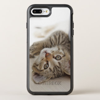 Coque OtterBox Symmetry iPhone 8 Plus/7 Plus Petit chaton mignon