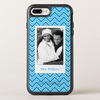 Coque OtterBox Symmetry iPhone 8 Plus/7 Plus Photo et arrière - plan nommé de motif de Chevron