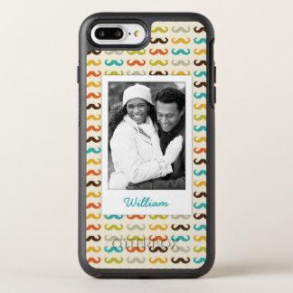 Coque OtterBox Symmetry iPhone 8 Plus/7 Plus Photo et profil de nom avec la moustache