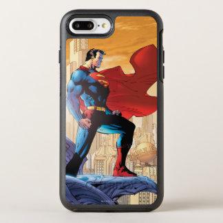 Coque OtterBox Symmetry iPhone 8 Plus/7 Plus Planète quotidienne de Superman