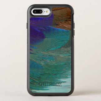 Coque OtterBox Symmetry iPhone 8 Plus/7 Plus Plumes lilas de rouleau de Breasted