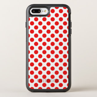 Coque OtterBox Symmetry iPhone 8 Plus/7 Plus Pois rouge