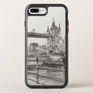Coque OtterBox Symmetry iPhone 8 Plus/7 Plus Pont Londres 2006 de tour