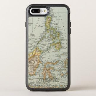 Coque OtterBox Symmetry iPhone 8 Plus/7 Plus Porcelaine d'Indo et archipel de Malaysian