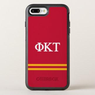 Coque OtterBox Symmetry iPhone 8 Plus/7 Plus Rayure de sport de Tau | de Kappa de phi
