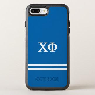 Coque OtterBox Symmetry iPhone 8 Plus/7 Plus Rayure de sport du phi | de Chi