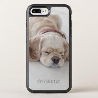 Coque OtterBox Symmetry iPhone 8 Plus/7 Plus Sommeil de chien de cocker