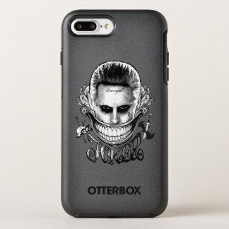 Coque OtterBox Symmetry iPhone 8 Plus/7 Plus Sourire de joker du peloton | de suicide