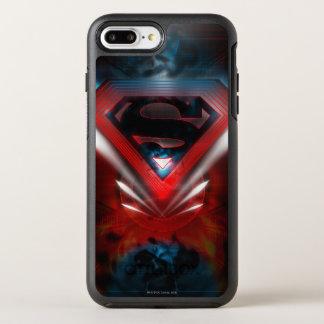 Coque OtterBox Symmetry iPhone 8 Plus/7 Plus Superman a stylisé le logo futuriste de  