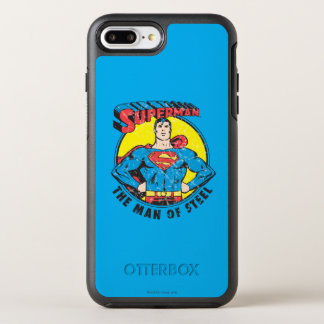 Coque OtterBox Symmetry iPhone 8 Plus/7 Plus Superman l'homme de l'acier