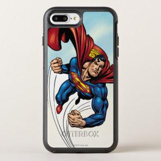 Coque OtterBox Symmetry iPhone 8 Plus/7 Plus Superman rapide par l'air