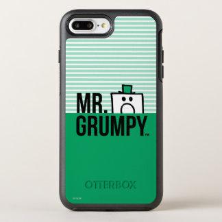 Coque OtterBox Symmetry iPhone 8 Plus/7 Plus Tête jetante un coup d'oeil de M. Grumpy |