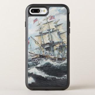 Coque OtterBox Symmetry iPhone 8 Plus/7 Plus Têtes de constitution d'USS pour S.M. frégate