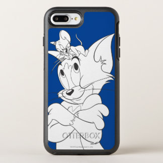 Coque OtterBox Symmetry iPhone 8 Plus/7 Plus Tom et Jerry sur la tête