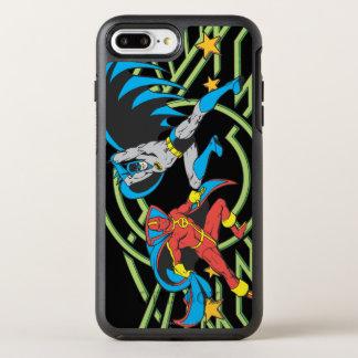 Coque OtterBox Symmetry iPhone 8 Plus/7 Plus Tornade rouge + Batman